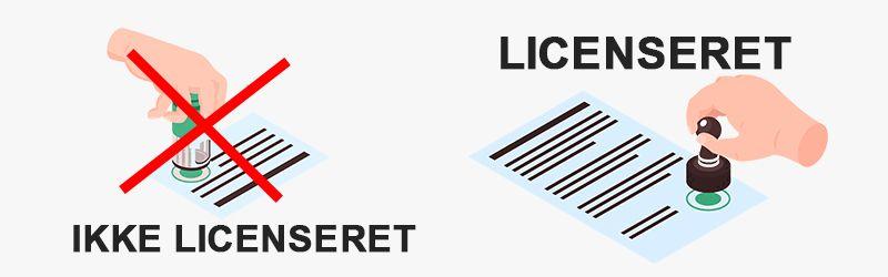 Licenserede casinoer vs. casinoer uden dansk licens