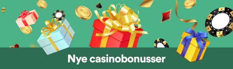 Nye casinobonusser dansk
