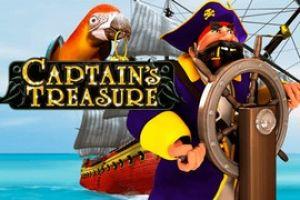 Captain's Treasure slot online fra PlayTech