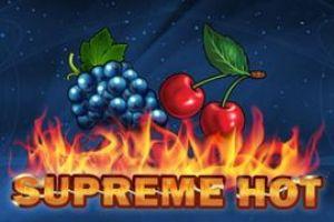 Supreme Hot online slot fra EGT