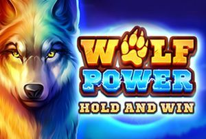 Wolf Power: Hold and Win slot logo