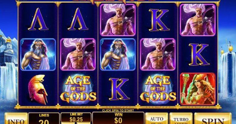 Play in Age of the Gods: King of Olympus slot online fra PlayTech for free now   Danske Casinoer