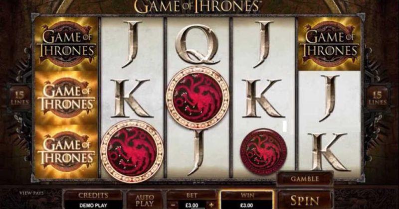 Play in Game of Thrones slot online fra Microgaming for free now | Danske Casinoer