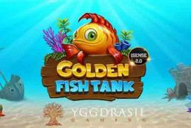 Golden Fish Tank-spillemaskine online fra Yggdrasil Gaming