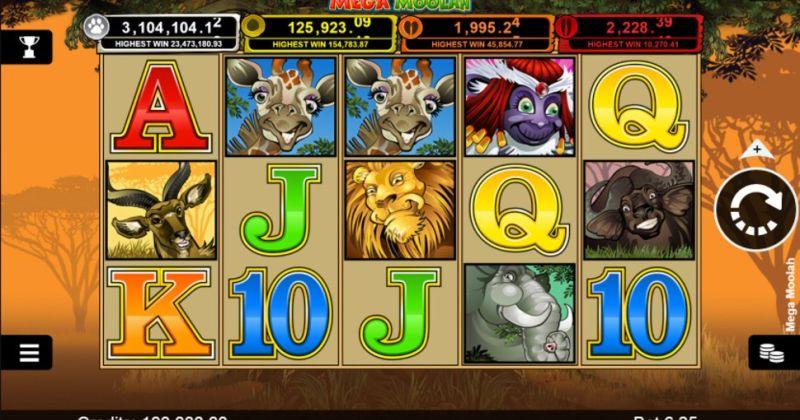 Play in Mega Moolah slot online fra Microgaming for free now | Danske Casinoer